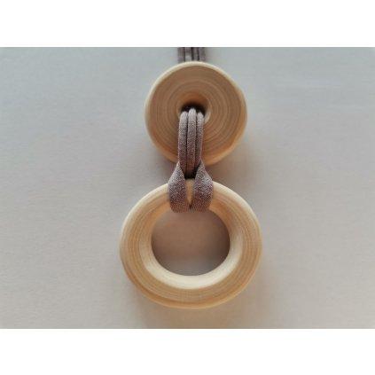 3769 8 kojici nahrdelnik spojeni s krouzkem
