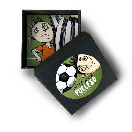 fotbal pucleso krabicka