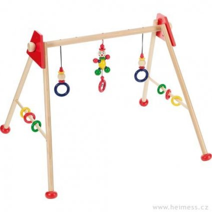 Malý panáček - dřevěná hrazdička, 3 výškové polohy