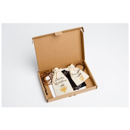 SADA – Moje první zoubky (kartonová krabička CELÁ SADA - VČETNĚ 20 KS KORÁLKŮ)