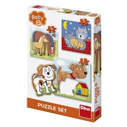 Puzzle ZVÍŘÁTKA 3-5 baby set