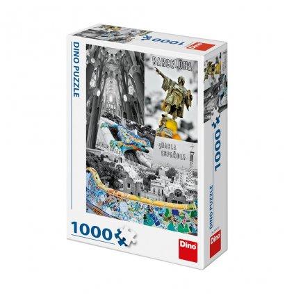 Puzzle BARCELONA - KOLÁŽ 1000