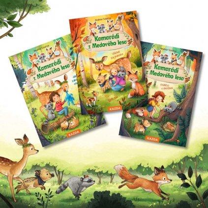 Kamarádi z Medového lesa 1, 2 a 3