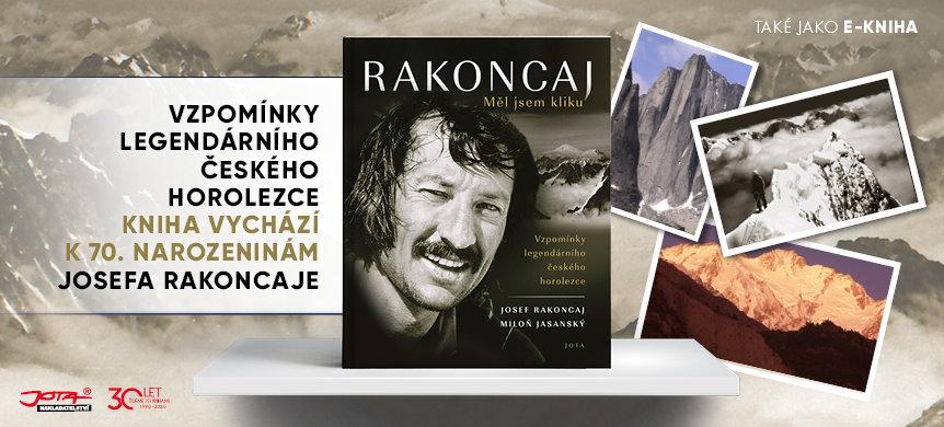 Životopis legendárního Josky Rakoncaje v knižní podobě.