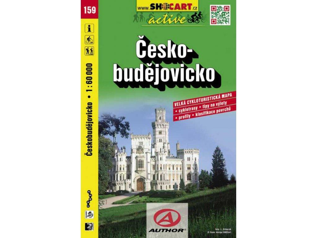 Českobudějovicko (cyklomapa č. 159)