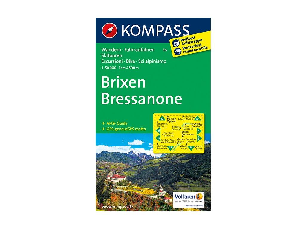 Brixen, Bressanone (Kompass - 56)
