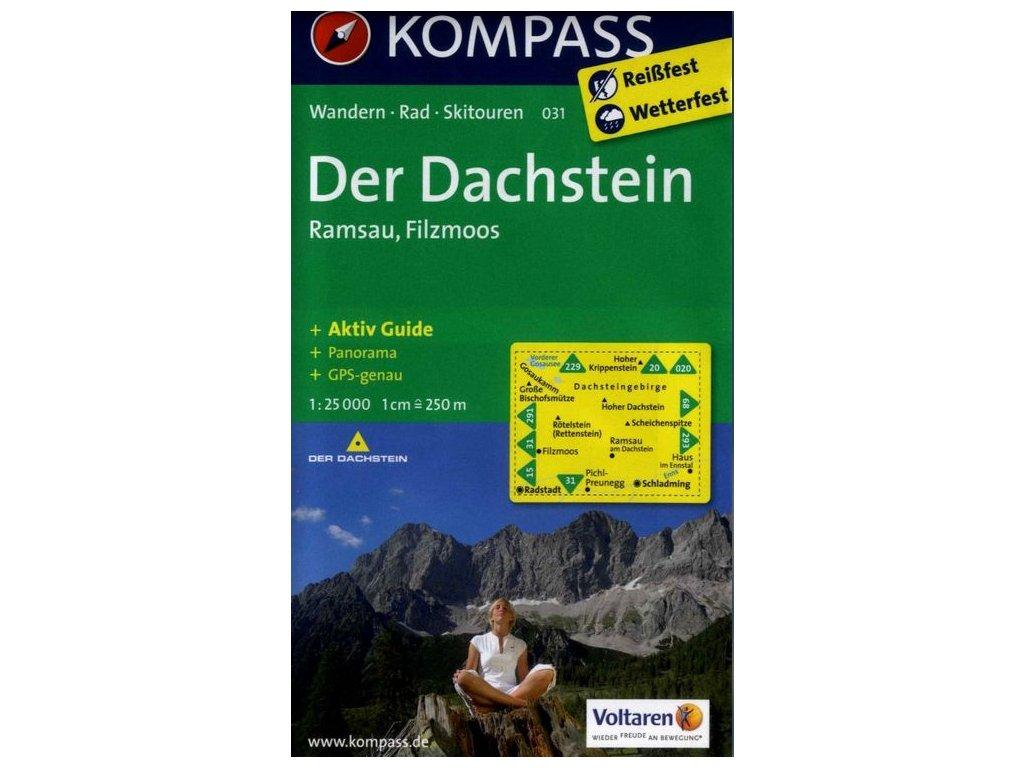 Dachstein, Ramsau, Filzmoos (Kompass - 031)