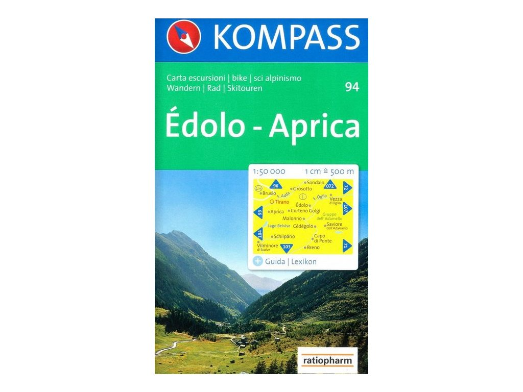 Édolo, Aprica (Kompass - 94)