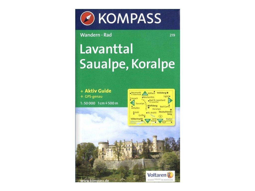 Lavanttal, Saualpe, Koralpe (Kompass - 219)