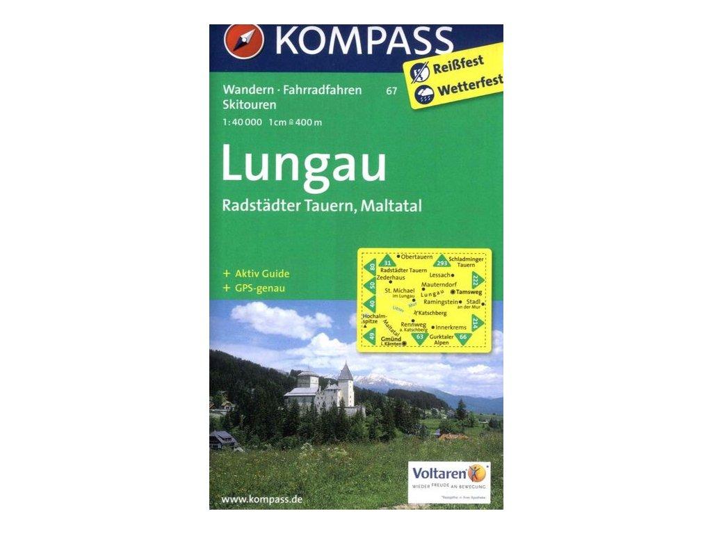 Lungau, Radstadter Tauern (Kompass - 67)