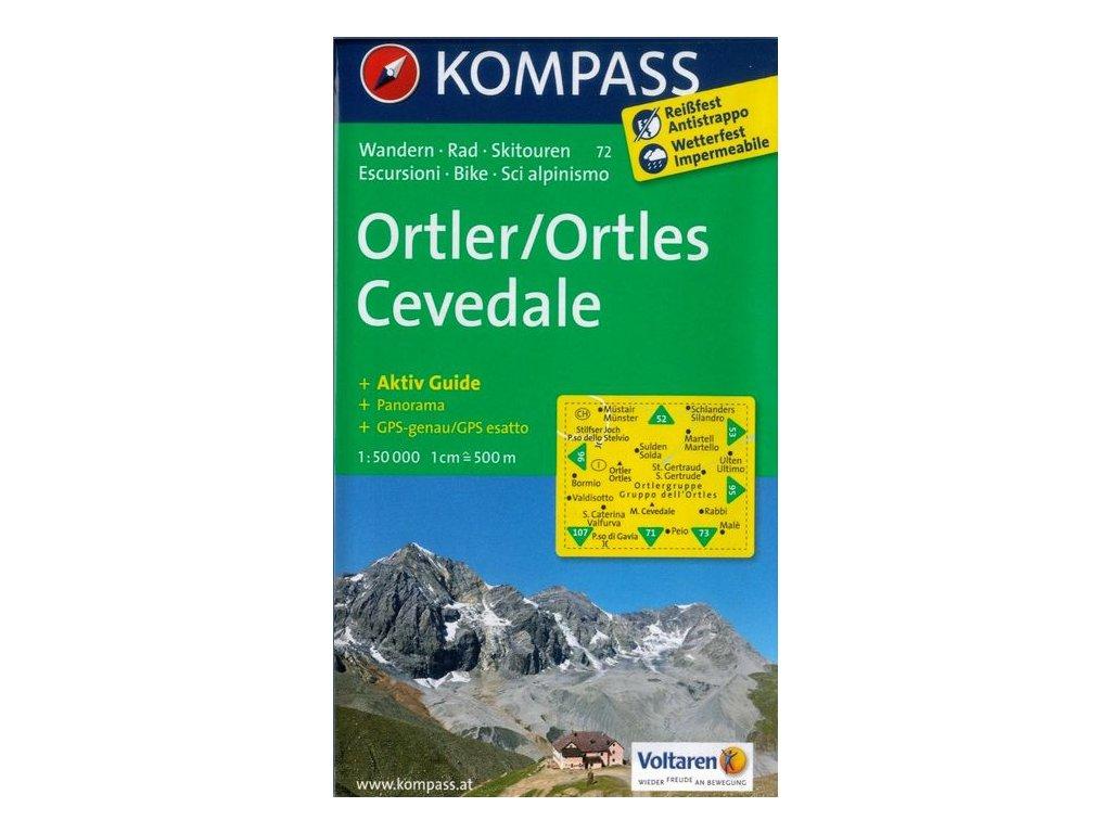 Ortler, Cevedale (Kompass - 72)