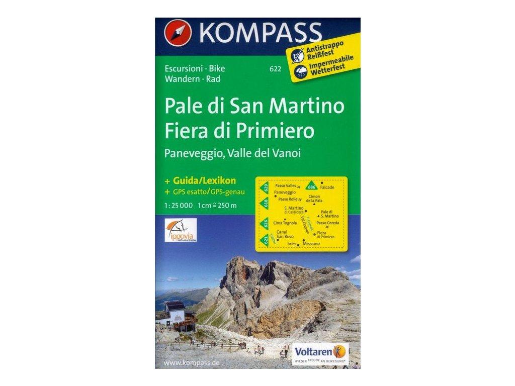 Pale di San Martino, Fiera di Primiero (Kompass - 622)