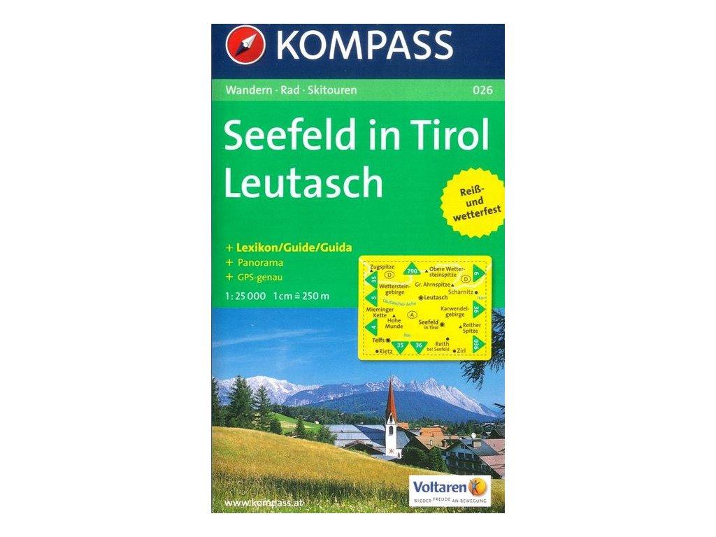 Seefeld in Tirol, Leutasch (Kompass - 026)
