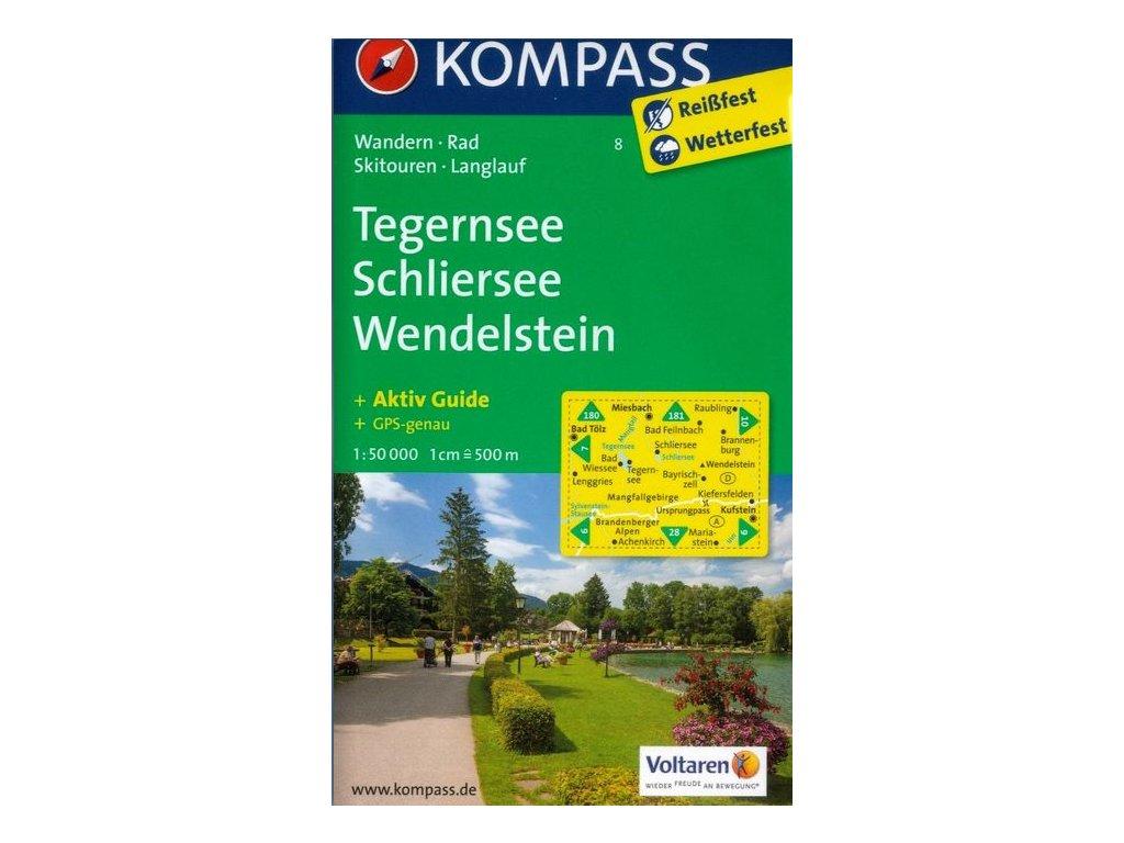 Tegernsee, Schliersee, Wendelstein (Kompass - 8)