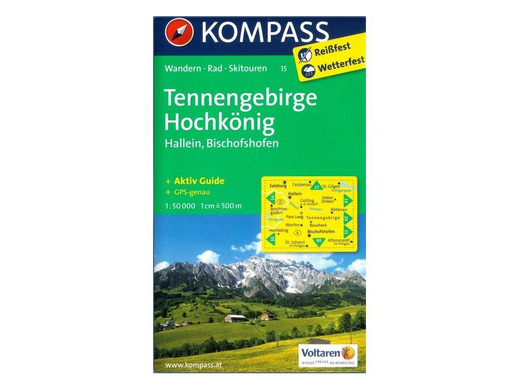 Tennengebirge, Hochkönig (Kompass - 15)