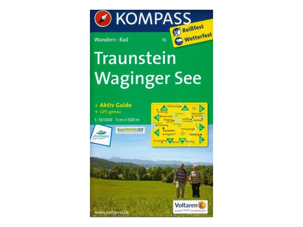 Traunstein, Waginger See (Kompass - 16)