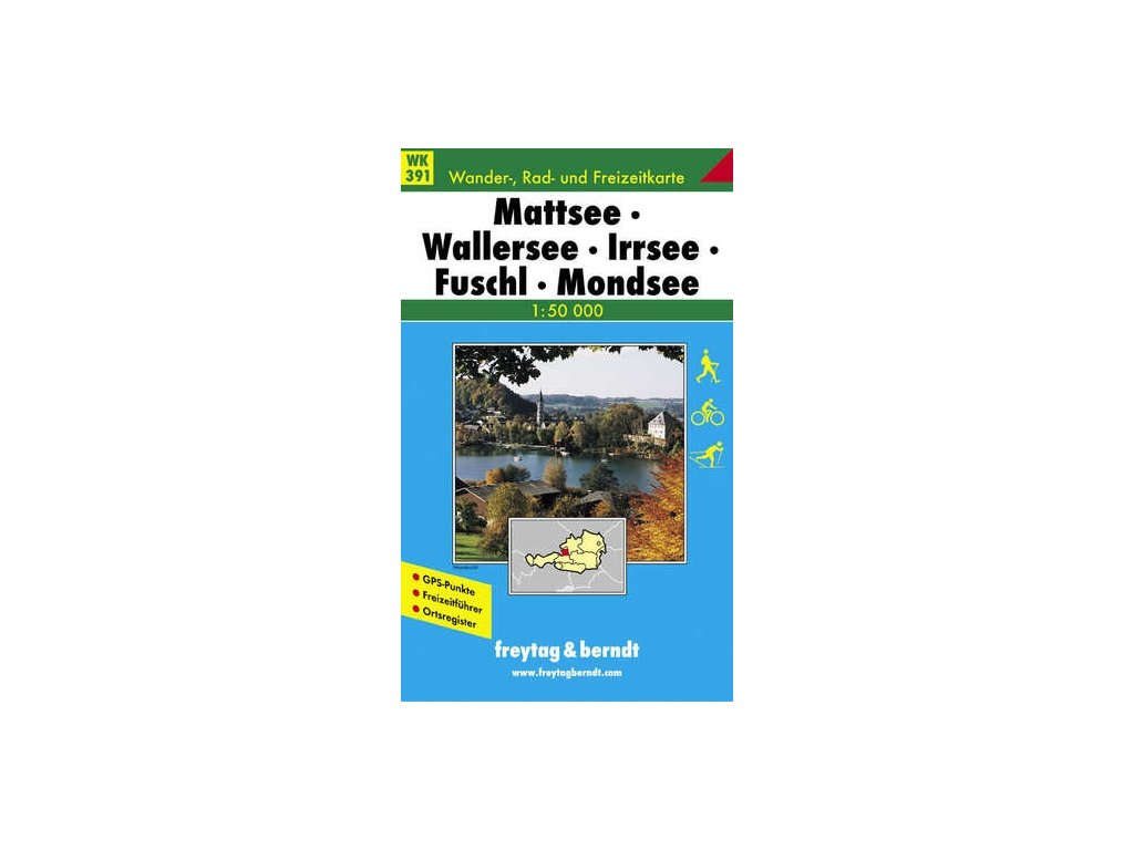 Mattsee, Wallersee, Irrsee, Fuschl, Mondsee, Oberndorf (WK391)