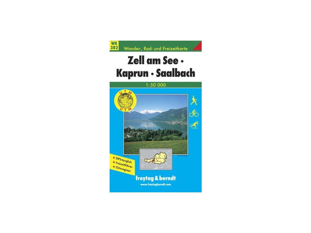Zell am See, Kaprun, Saalbach (WK382)