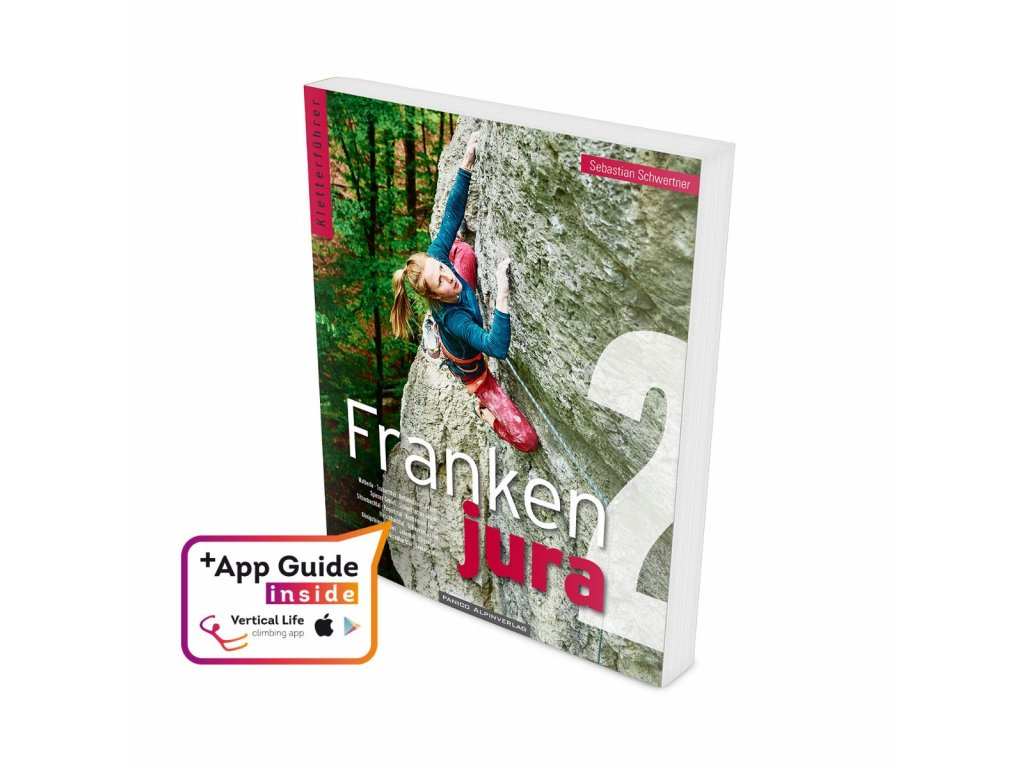 climbing guide book frankenjura sportklettern 9783956111457