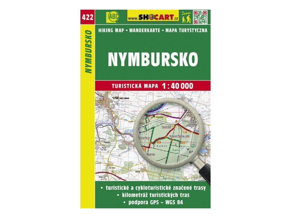 Nymbursko - turistická mapa č. 422