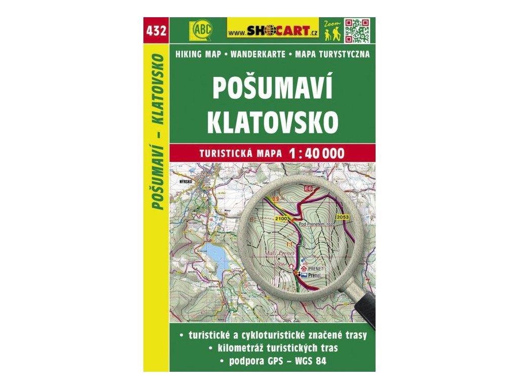 Pošumaví - Klatovsko - turistická mapa č. 432