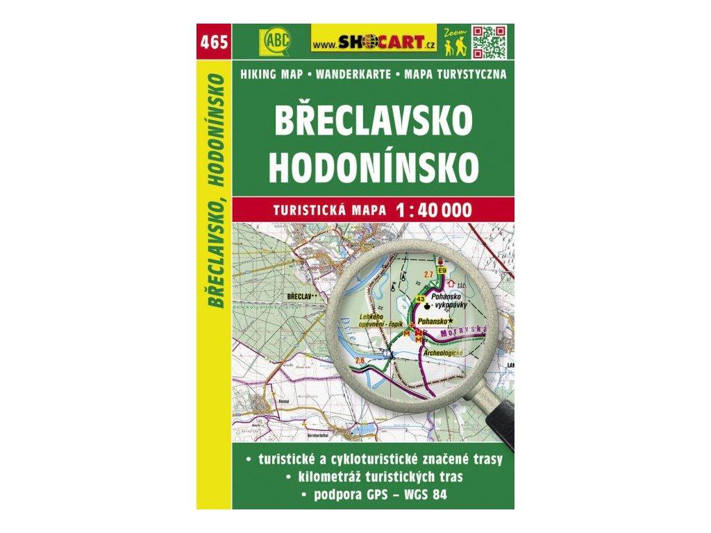 Břeclavsko, Hodonínsko - turistická mapa č. 465