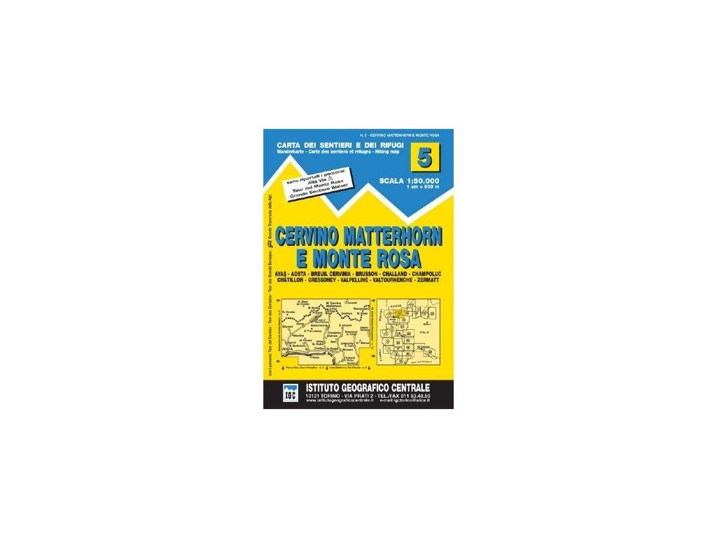 Cervino-Matterhorn e Monte Rosa - IGC05