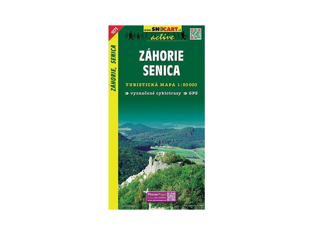 Záhorie,Senica - turistická mapa (shocart č.1073)