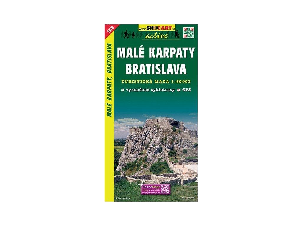 MaléKarpaty,Bratislava - turistická mapa (shocart č.1078)