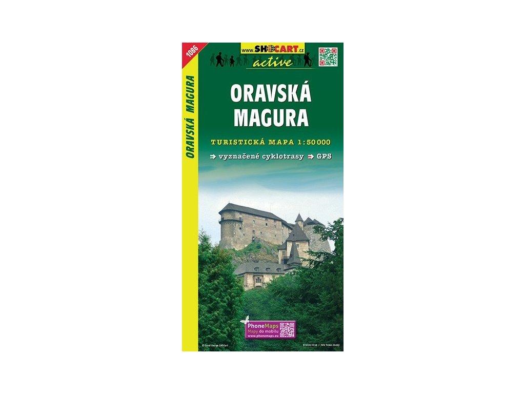 OravskáMagura - turistická mapa (shocart č.1086)