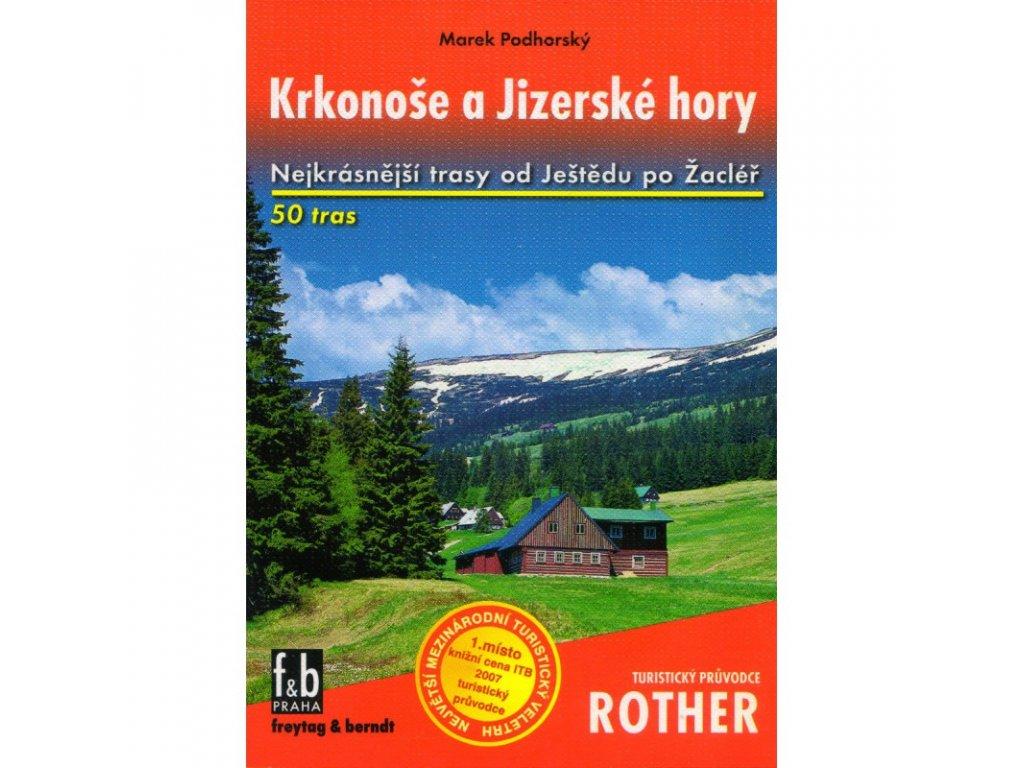 Krkonoše a Jizerské hory - turistický průvodce