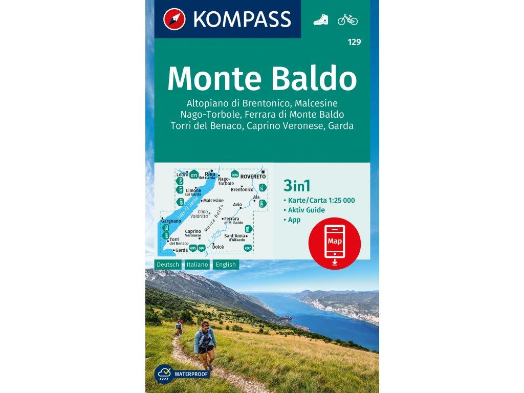 Monte Baldo a okolí (Kompass 129)