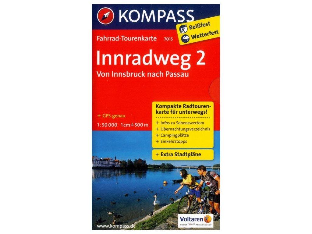 Innradweg 2, Von Innsbruck nach Passau  (Kompass 7015)