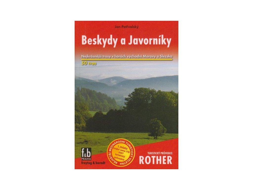 Beskydy a Javorníky - turistický průvodce Rother