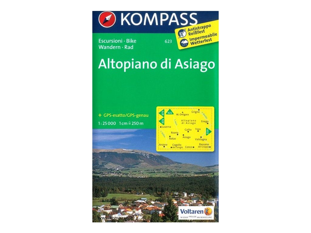 Altopiano di Asiago (Kompass - 623)