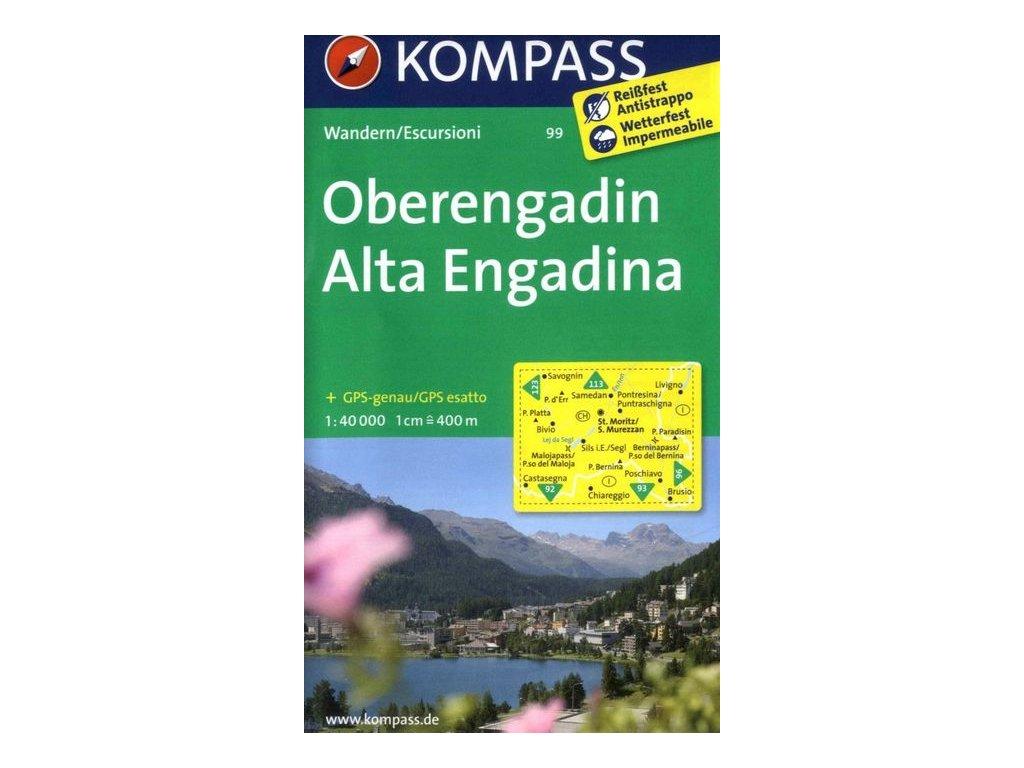 Oberengadin, Alta Engadina (Kompass - 99)