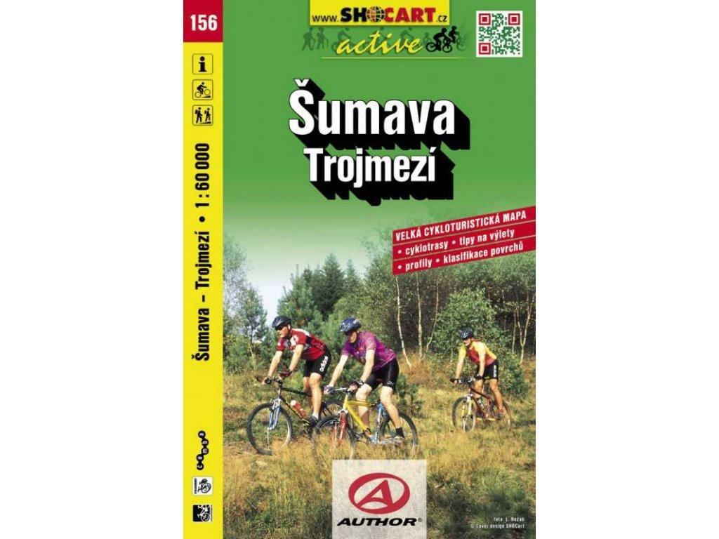 Šumava - Trojmezí (cyklomapa č. 156)