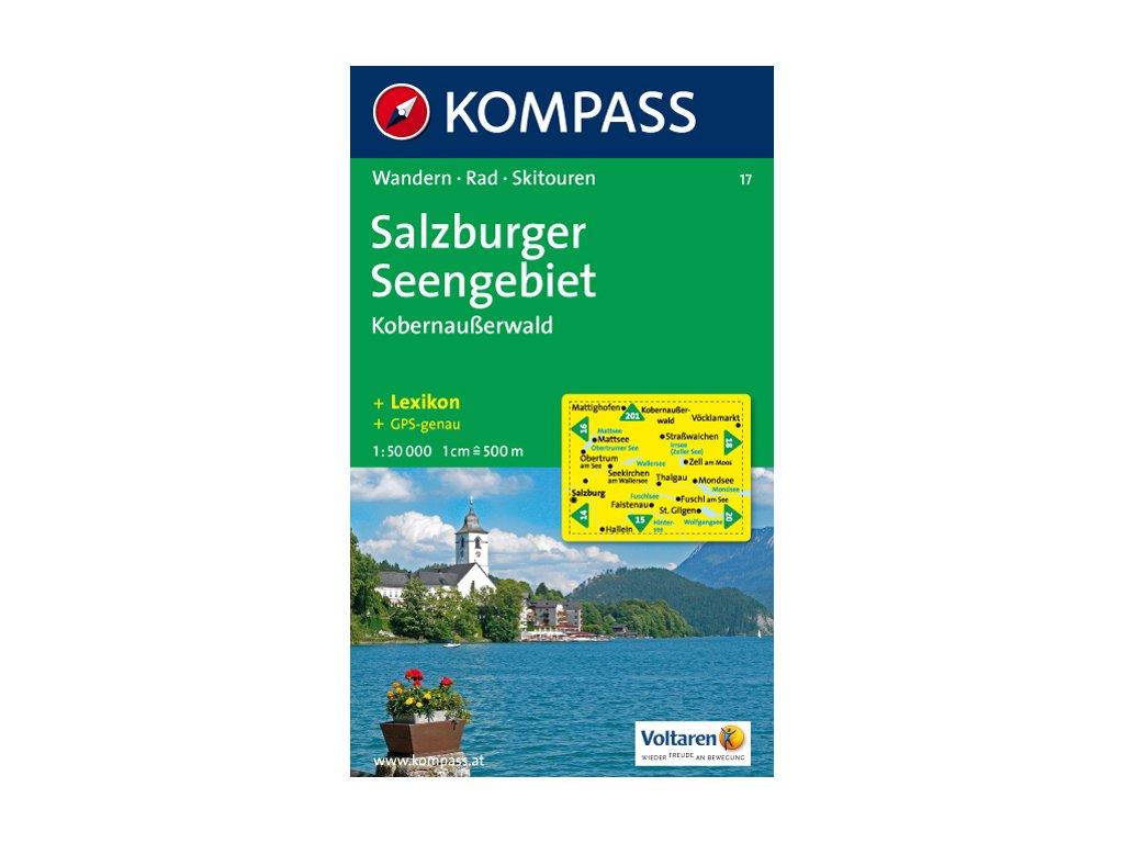 Salzburger Seengebiet, Kobernaußerwald (Kompass - 17)