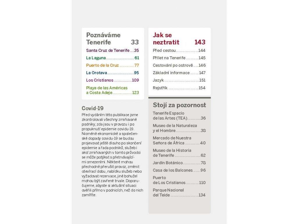 Tenerife - průvodce do kapsy