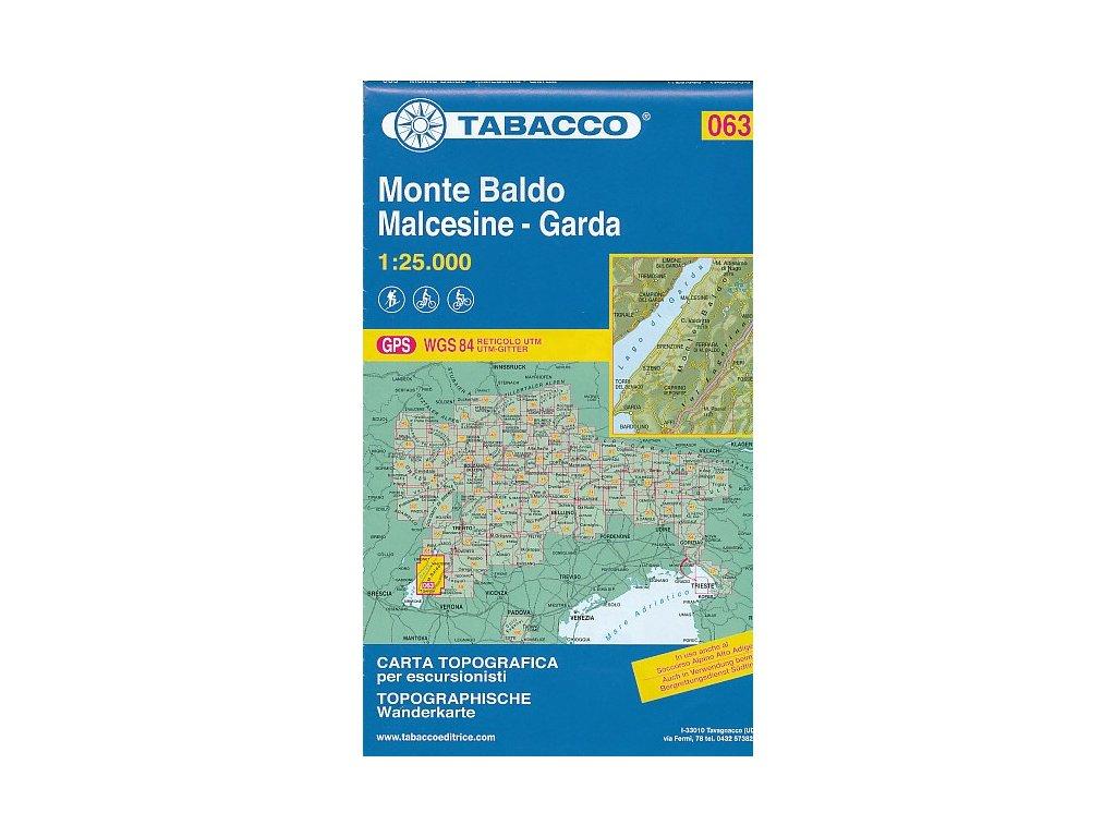 Monte Baldo, Malcesine, Garda (Tabacco -  063)