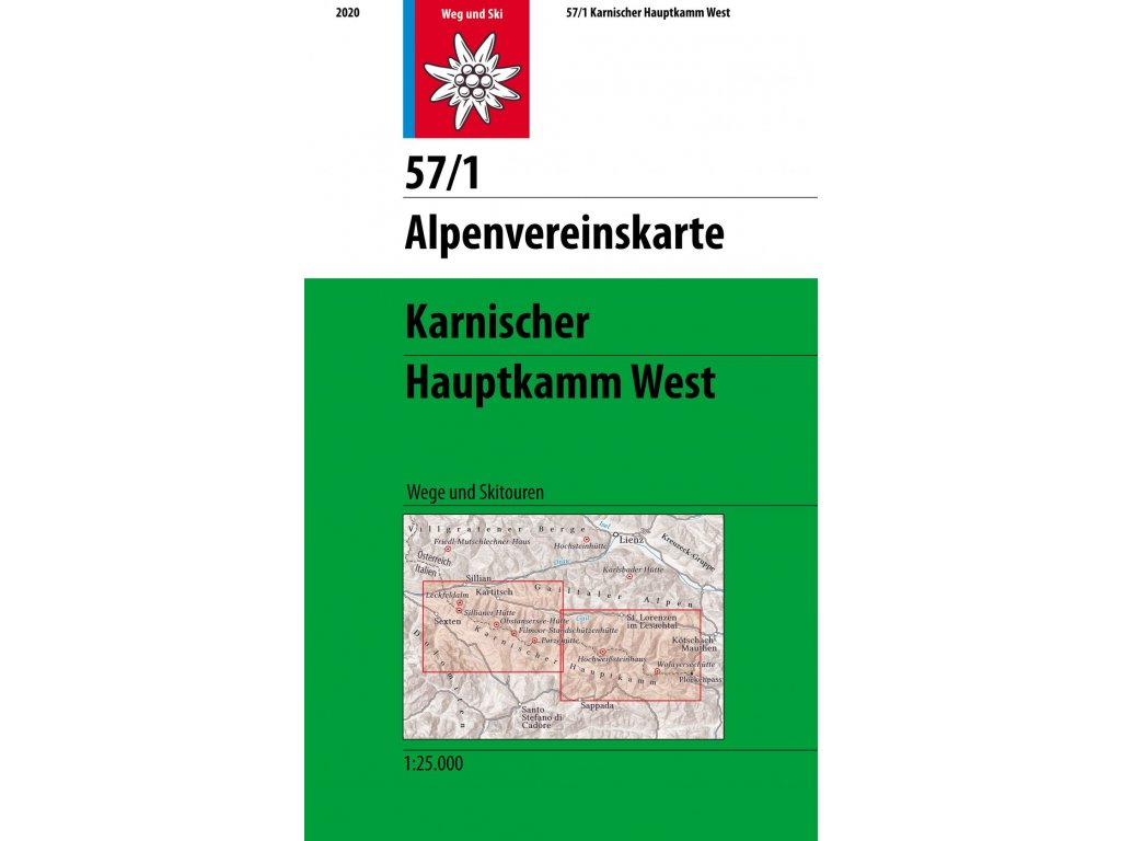 Karnischer Hauptkamm West (letní + zimní) – AV 57/1