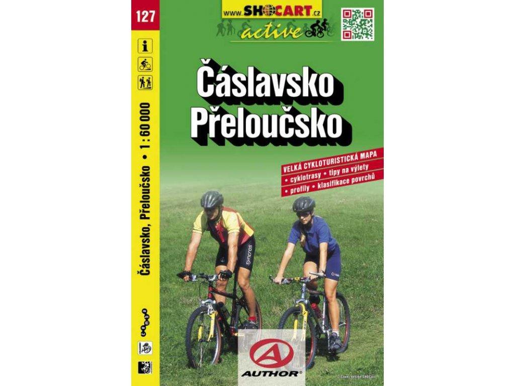 Čáslavsko, Přeloučsko (cyklomapa č. 127)