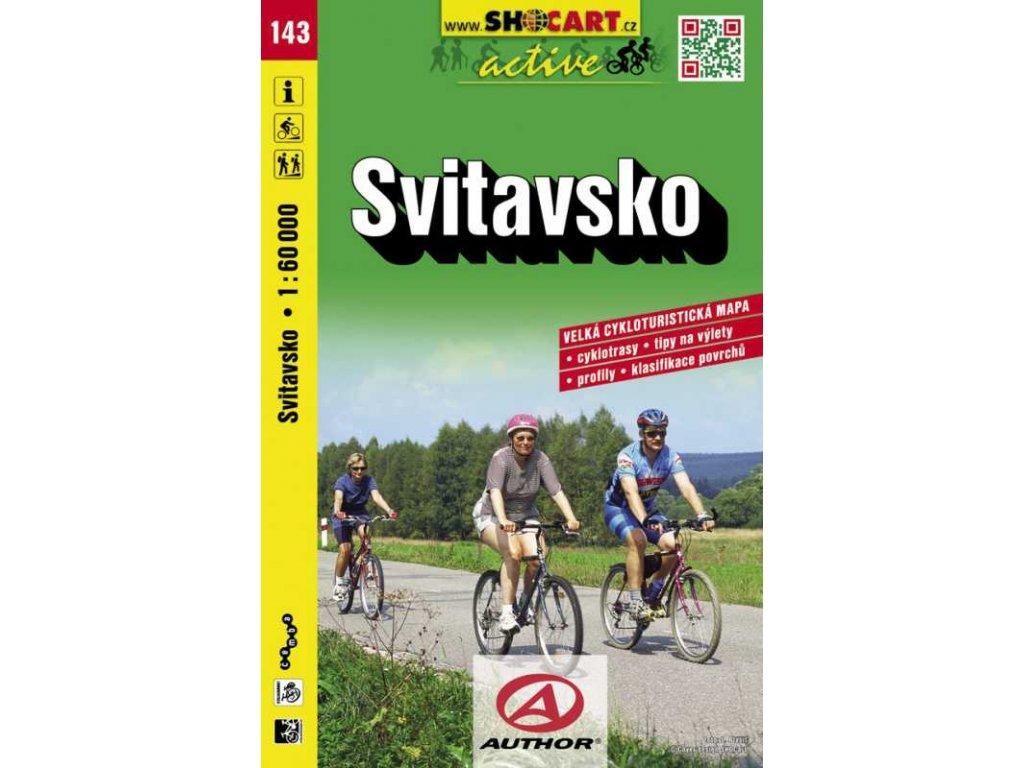 Svitavsko (cyklomapa č. 143)