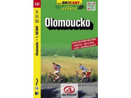 Olomoucko (cyklomapa č. 147)