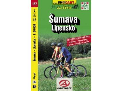 Šumava - Lipensko (cyklomapa č. 157)
