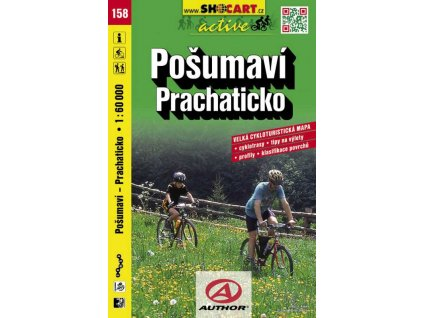Pošumaví - Prachaticko (cyklomapa č. 158)