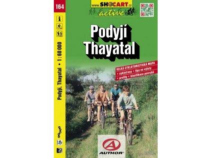 Podyjí-Thayatal (cyklomapa č. 164)