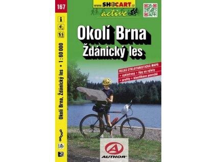 Okolí Brna, Ždánický les (cyklomapa č. 167)