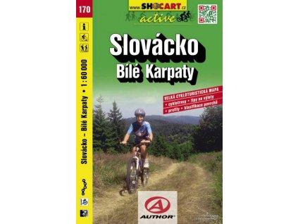 Slovácko - Bílé Karpaty (cyklomapa č. 170)