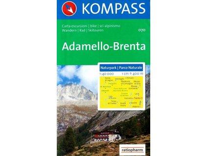 Národní park Adamello, Brenta (Kompass, 070)